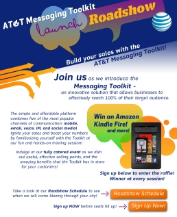AT&T Roadshow Email
