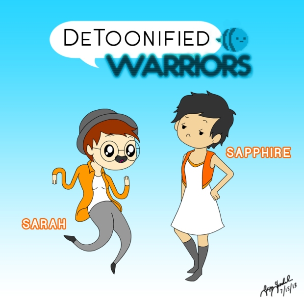 DeToonified Warriors