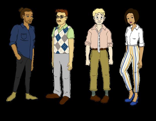 Subway - Characters - Concepts v4